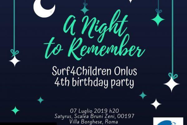 Birthday Party SURF4CHILDREN