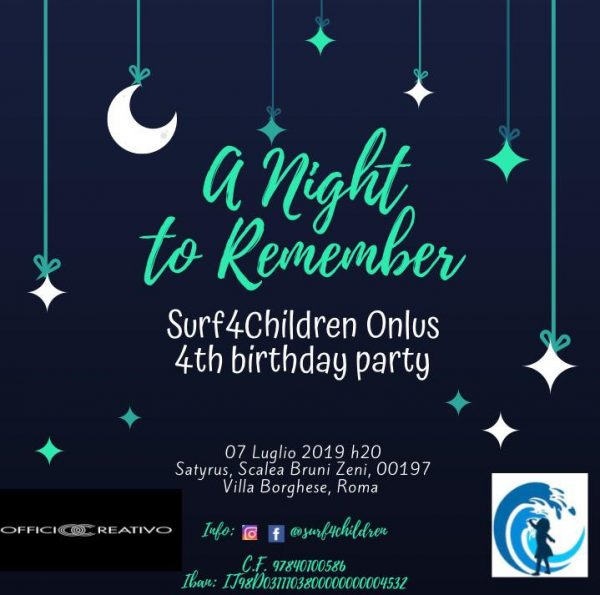 Birthday Party SURF4CHILDREN